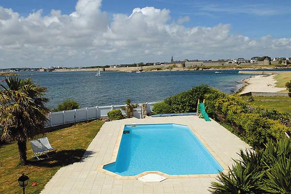 Act immo immobilier 710 maison avec piscine acces for Piscine morbihan