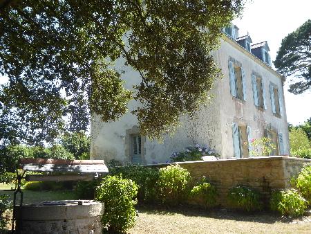 Act immo immobilier superbe maison de famille vue mer for Cote et jardin ile aux moines