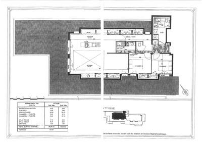 plan appartement attique